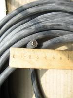 Фотография теплостойкого медного силиконового провода SIF-ST 1x25