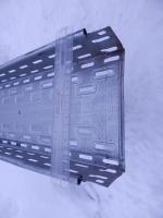 Кабельный перфорированный лоток 200х80 или 80х200 длиной 3000 мм для прокладки кабельно-проводниковой продукции