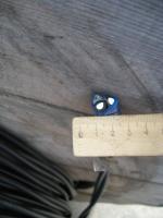 Фотография сечения изолированного алюминиевого провода СИПнг-5 2х16 для отвода к дому от воздушной линии электропередачи
