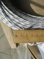 Фотография вибростойкого авиационного провода БПВЛ сечением 2,5 в ПВХ изоляции