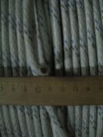 Фотография сечения живучего авиационного провода БПВЛ сечением 10 производства РыбинскКабель