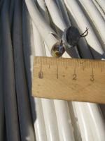 Фотография негорючего бытового медного провода ПВСнг 3х2,5 с многопроволочными жилами