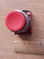 Кнопка красная P9MPNRS без фиксации