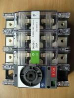 Фотография рубильника Dilos-3 на номинальный ток 250 ампер производства General Electric