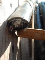 Фотография бронированного алюминиевого кабеля АВБбШвнг 4х35 для стационарной групповой прокладки