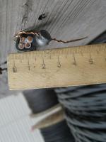 Фотография негорючего силового медного кабеля ВВГнг 4х6 для стационарной групповой прокладки производства завода Южкабель