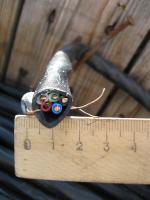Фотография силового медного кабеля ВВГнг 5х4 для силовой электропроводки производства Южкабель