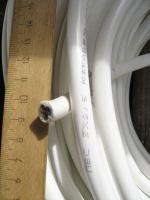 Фотография трёхжильного медного кабеля ПВС 3х2,5 производства Южкабель для стационарной электропроводки и подвижных соединений