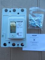 Фото автоматического выключателя ВА57Ф35 исполнения 340010 на 63 ампера выпуска Курского электроаппаратного завода