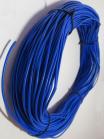 Фотография синего автомобильного гибкого медного провода ПГВА 0,75 для электропроводки