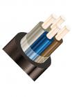 Изображение контрольного негорючего кабеля КВВГнг 4х6 для стационарной групповой прокладки