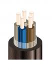 Изображение контрольного негорючего кабеля КВВГЭнг 5х6 для стационарной групповой прокладки, с защитой от помех