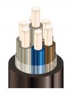 Изображение медного контрольного кабеля КВВГнг-LS 7х6 для групповой прокладки в общественных помещениях