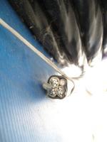 Фотография сечения силового алюминиевого кабеля АВВГнг 3х70+1х35 для стационарной групповой прокладки