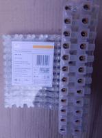 Фотография винтовых контактного зажимов ЗВИ-15 нг производства компании ИЭК из негорючего полистирола