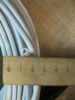 Фотография силового трёхжильного провода ПВСнг-LS 3х0,5 с пониженным выделением дыма для групповой прокладки