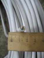 Фотография силового трёхжильного провода ПВСнг-LS 3х1 с пониженным выделением дыма для групповой прокладки