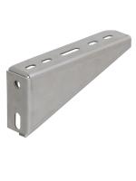 Настенный стальной кронштейн под кабельный лоток шириной 100 мм