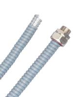 Изображение металлического рукава в поливинилхлоридной оболочке диаметром 50 мм производства ДКС