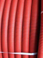 Изображение гибкой гофрированной трубы из полиэтилена низкого давления (ПНД) диаметром 40 мм выпуска ДКС