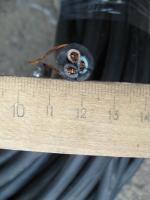 Фотография гибкого монтажного трёхжильного контрольного кабеля КГВВнг 3х2,5