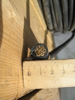 Фотография семижильного контрольного гибкого кабеля КГВВнг 7х2,5 в исполнении пониженной горючести