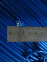 Фотография силового гибкого одножильного медного провода ПВ3нг-LS 10 в негорючей малодымной ПВХ изоляции разного цвета