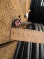 Фотография силового гибкого одножильного медного провода ПВ3нг-LS 95 в негорючей малодымной ПВХ изоляции разного цвета