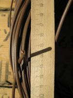 Фотография жёсткого одножильного медного негорючего малодымного провода ПВ1нг-LS 2,5 для стационарной групповой прокладки