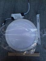 Фотография круглого накладного потолочного светодиодного светильника на 18 Вт