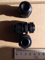 Фотография герметичных (IP68) сальников MG-16 для ввода кабеля