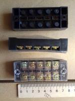 Фотография клеммной колодки (блока зажимов или клеммника) ТВ 2505