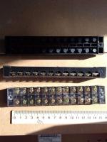 Фотография клеммной колодки (блока зажимов или клеммника) ТВ 3512