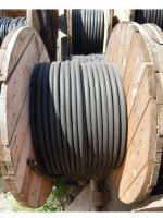 Фотография барабана с силовым гибким двухжильным кабелем КГ 2х70 для подвижного присоединения