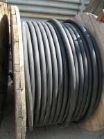 Фотография заводского барабана с гибким силовым кабелем КГ 3х150+1х70