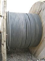 Фотография барабана с медным силовым гибким кабелем КГ 240