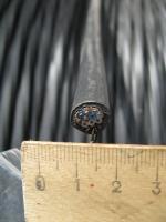 Фотография негорючего монтажного кабеля МКЭШнг 10х1,5 с медными жилами в экране в виде оплётки