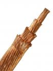 Фотография гибкого провода МГ 70 без изоляции
