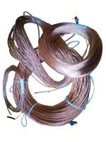 Фотография гибкого провода МГ 95 без изоляции