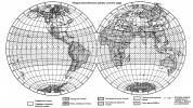 Визуальная разбивка земного шара на макроклиматические районы