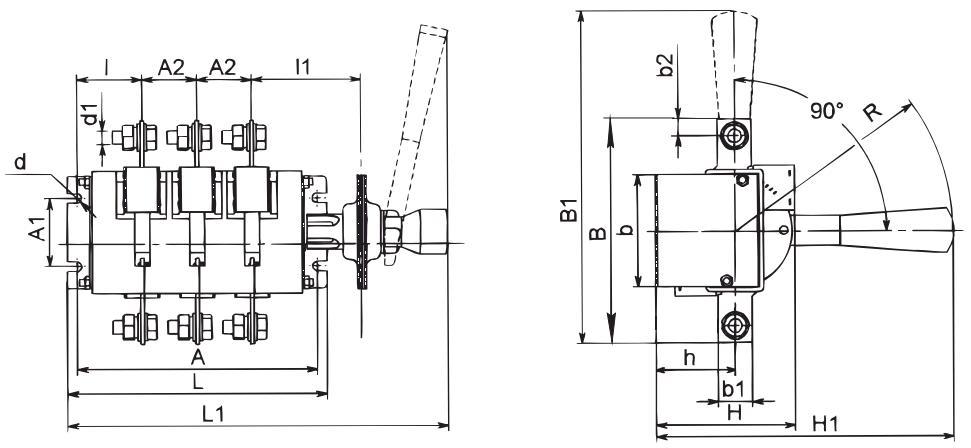 рубильника ВР 32-39 В31250