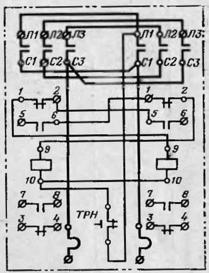 электромонтажная схема