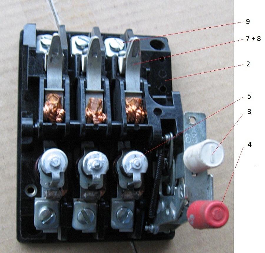 выключателя АП50Б 2МТ или